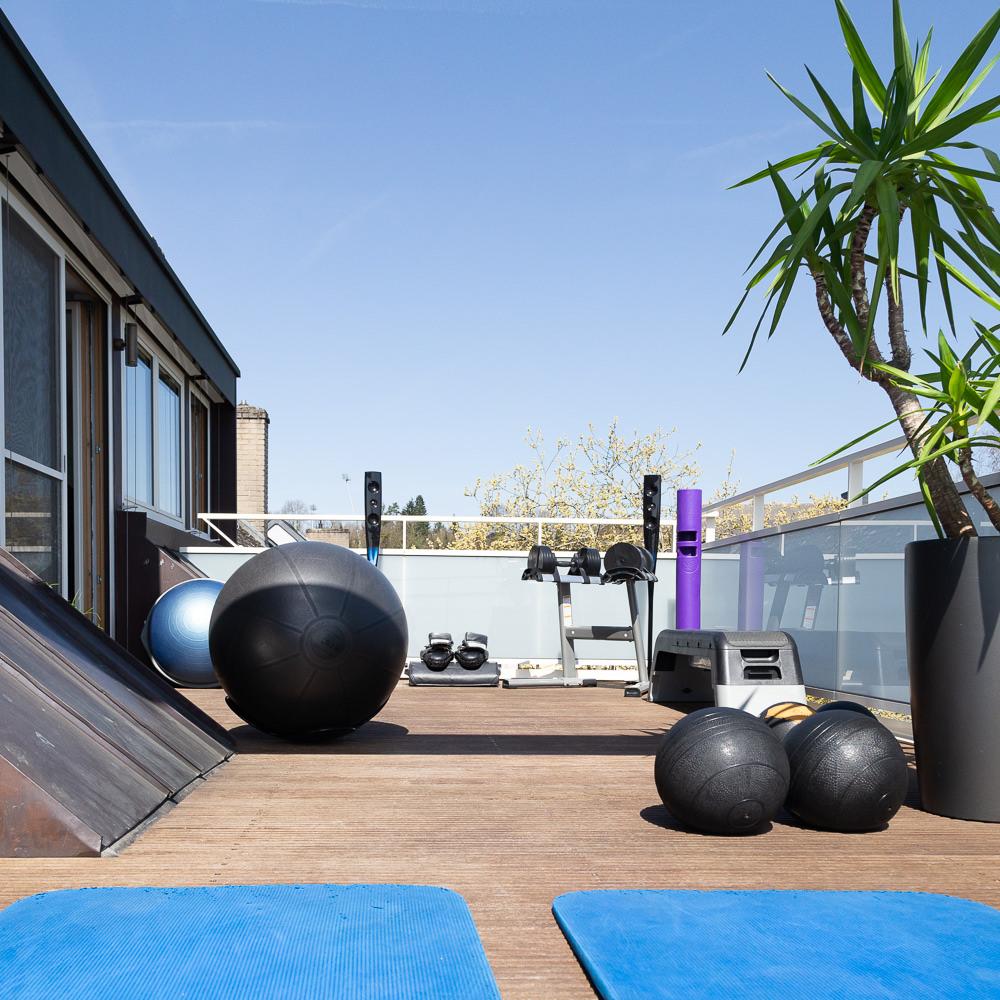 Salle de fitness - Coaching extérieur en plein air