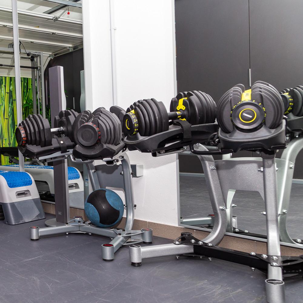 Salle de fitness à Luxembourg - Machines et haltères